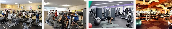 gyms health and fitness centers