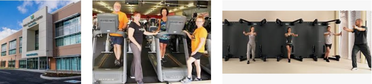 Health and Fitness Centers Email Addresses